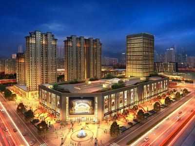 出租金山国际3室2厅1卫110平米3500元/月住宅