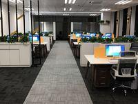 公司位于西子国际2号楼24层整层出租,可分割出租,带装修、宽带、办公设备