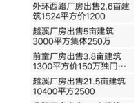 出售跃城关厂房出售2.6亩1520平米1100万商铺