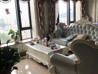 出租西子国际2室1厅1卫89平米3750元/月豪华欧式装修住宅