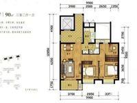 出售滨海郡庭3室2厅1卫89平米63万白坯住宅